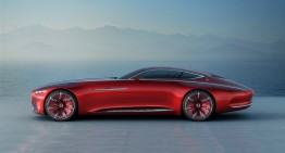 Vision Mercedes-Maybach 6 – May there be retro-futuristic luxury