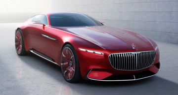 THIS IS IT: Vision Mercedes-Maybach 6 Coupe fully revealed
