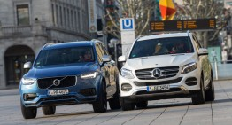 Comparison test Mercedes GLE 500 e vs Volvo XC90 T8 AWD