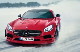 Dashing through the snow at the AMG Winter Sporting 2017