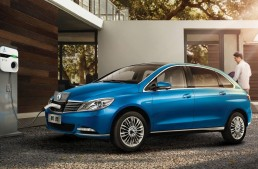 Daimler launches updated Denza 400 EV electric car for China