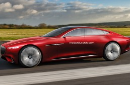 How would a four door Maybach Coupe look like?