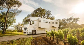 Magellano Edition 1: Actros turns into luxury motorhome