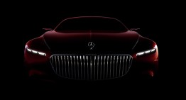 Mercedes-Maybach Coupe shows its face in new official pic