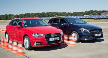 Three cylinder engine any good? Mercedes A 180 vs Audi A3 1.0 TFSI