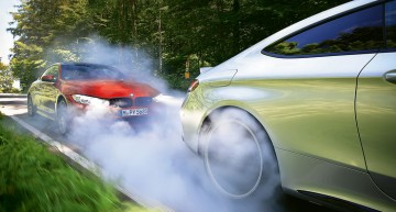 POWER WAR! Mercedes-AMG C 63 S Coupe versus BMW M4 Competition Package