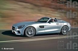 Mercedes-AMG GT C Roadster. Open top GT lands in Paris