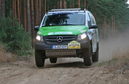 Mercedes Vito Rallye Aïcha des Gazelles winner tested by AMS