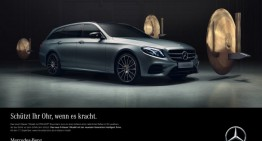 The new E-Class campaign – Nothing happens
