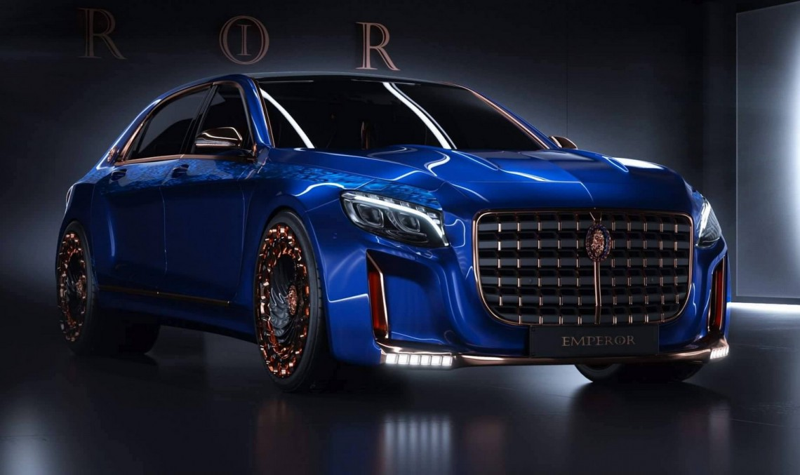 Opullence, it has it: The $1.5 million 900 HP Scaldarsi Motors EMPEROR