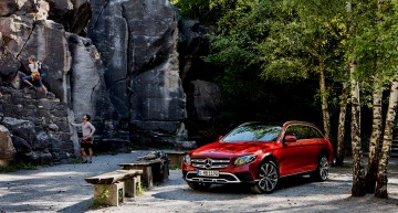 It boldly goes where no estate has gone before – First trailer of the Mercedes-Benz E-Class All-Terrain
