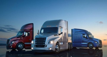 Smartest truck ever built. This is the new Freightliner Cascadia