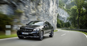 Introducing the new Mercedes-AMG GLC 43 4MATIC Coupé – Thoroughbred performance car