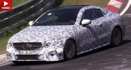 2018 Mercedes E-Class Coupe does the striptease dance