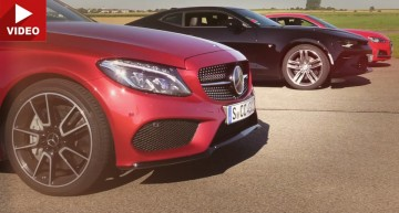 Can the new Audi S5 beat the Mercedes-AMG C 43 in a straight line?