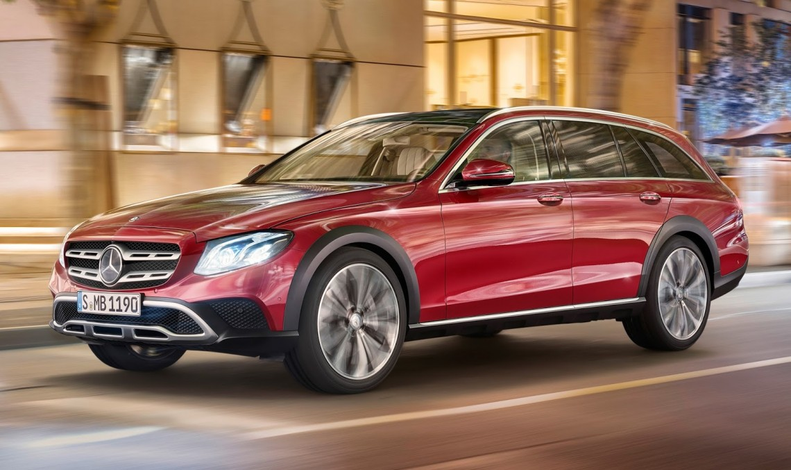 Mercedes E-Class All-Terrain prices start at €58,101
