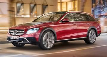 Mercedes E-Class All-Terrain prices start at €58,101