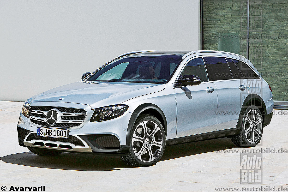 Mercedes E-Class All Terrain, the workhorse for active ...