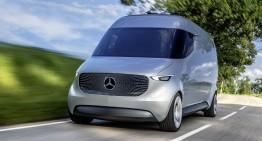 The Van of the Future: Mercedes Vision Van electric concept
