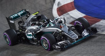 Singapore with a win in store! Rosberg gets tight victory