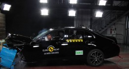 EuroNCAP: Top 5 star rating for new Mercedes E-class