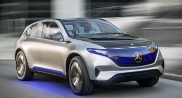 Generation EQ electric concept is official: Compact SUV with 500 km range