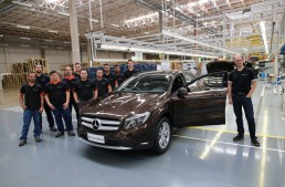 Mercedes starts production of GLA crossover in Brazil