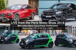 Live stream: Mercedes-Benz Press Conference in Paris