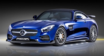 PIECHA Mercedes AMG GT RSR: Super athlete with 612 hp