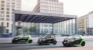 Geely saves Smart, buys 50% of the city car company and plans full electric range