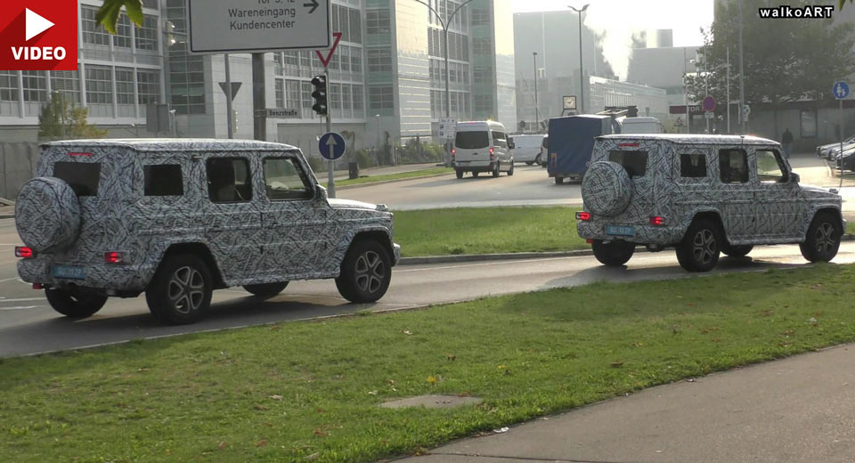 All-new 2018 Mercedes-Benz G-Class caught on video