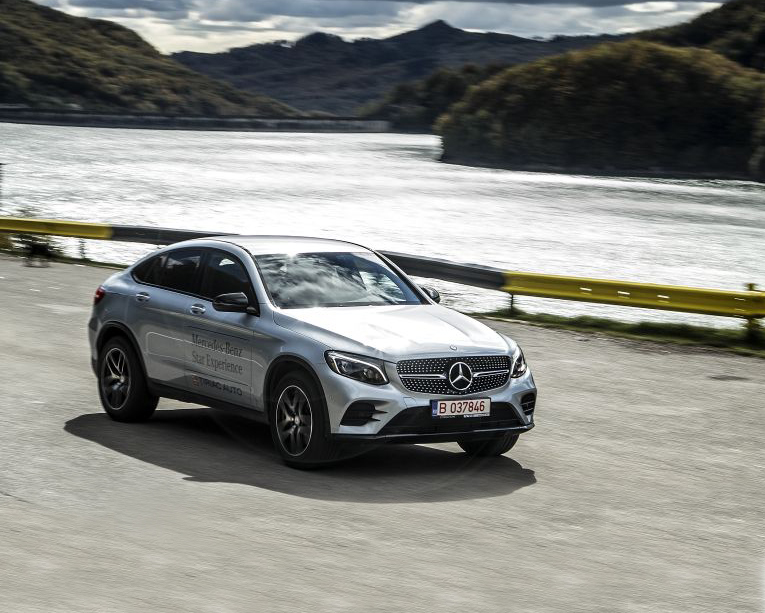 Test drive with the Mercedes GLC 250 d 4Matic Coupe