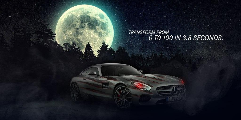 The Mercedes-Benz Halloween. Trick or treat!