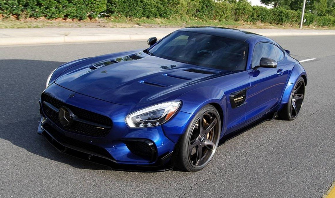 Brute: Mercedes-AMG GT S by Prior Design