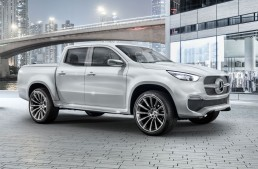 Mercedes-Benz X-Class Concept: First pickup of the three-pointed star is here