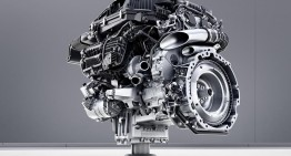 Mercedes rolls out new generation V8, inline 4 and 6 cylinder engines