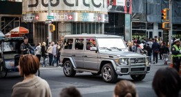 Glitzy $220,000 Mercedes-AMG G 65 goes to New York