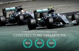 Mercedes-AMG PETRONAS – world champions again!