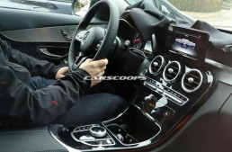 2018 Mercedes C-Class facelift interior revealed