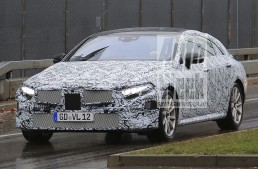 2018 Mercedes CLS (CLE) revealed in first-ever spy pics