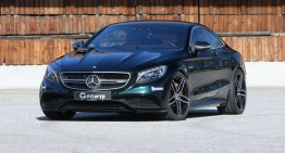 All powered up – This is the 705 HP G-Power Mercedes-AMG S63 Coupe
