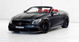 Madness reloaded – Brabus-tuned Mercedes-AMG S 63 Cabriolet with 850 HP