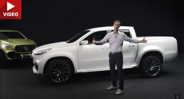 Mercedes-Benz X-Class: The pick-up's design explained