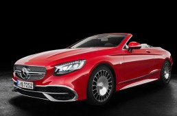 The most luxurious Mercedes convertible ever – The Mercedes-Maybach S 650 Cabriolet