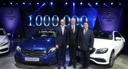 One million Mercedes cars – Production milestone in China