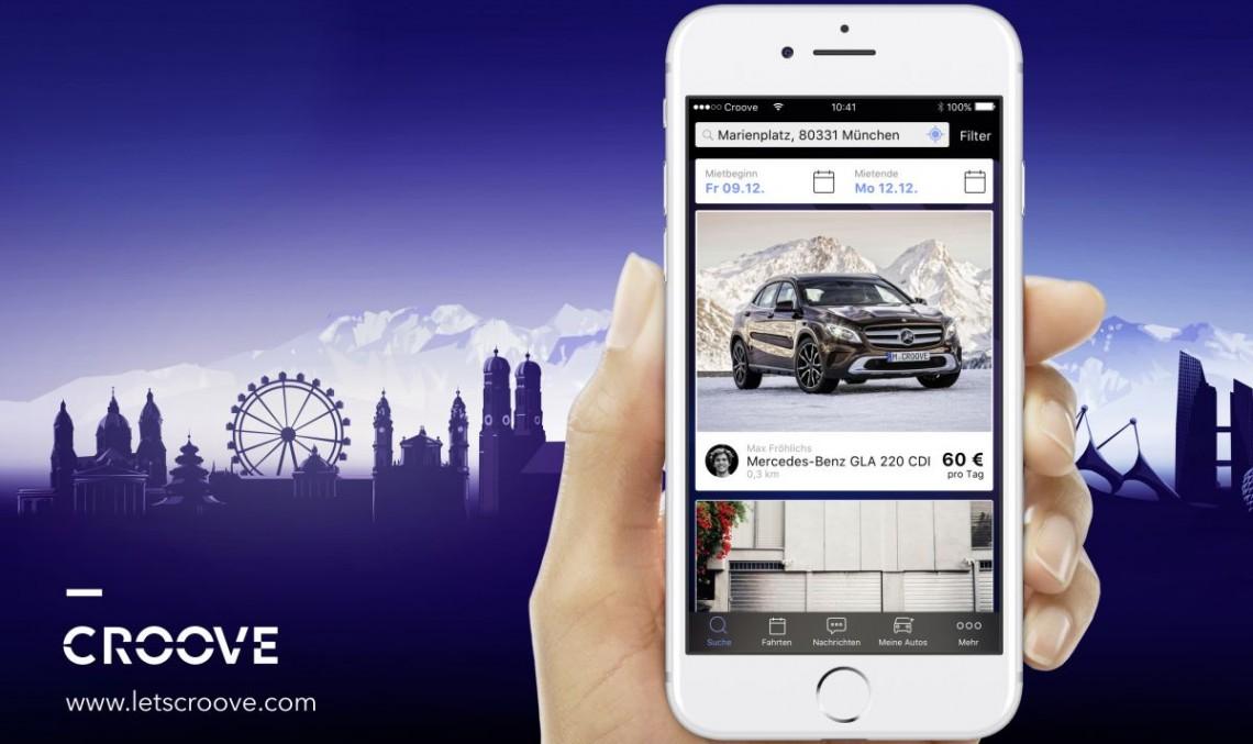 Croove: Mercedes launches car sharing platform in Munich