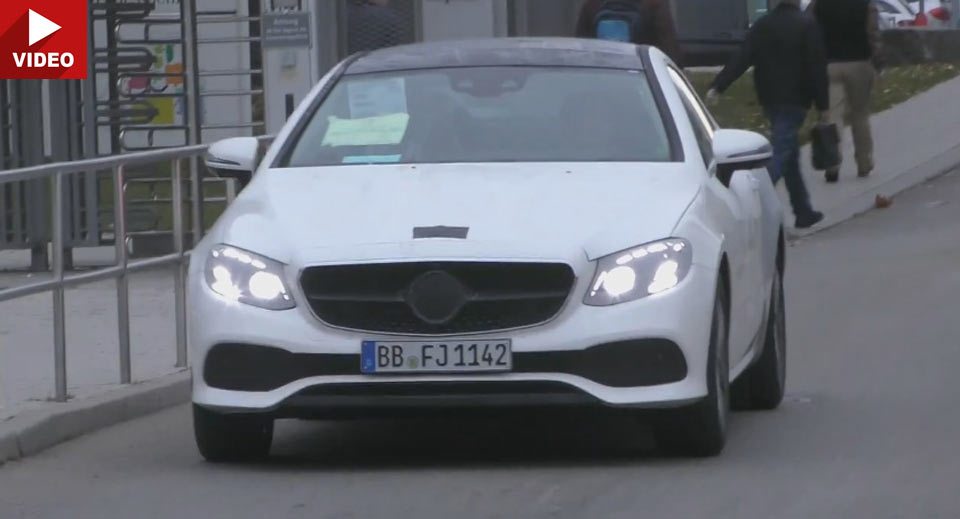2018 Mercedes-Benz E-Class Coupe caught with virtually no camo