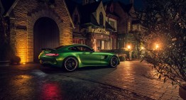 Mercedes-AMG GT R: Beast of Green Hell caught in Berlin