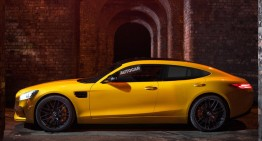 Mercedes-AMG GT4: The four-door supercar is coming in 2019