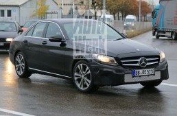 Mercedes C-Class gets ready for extensive facelift